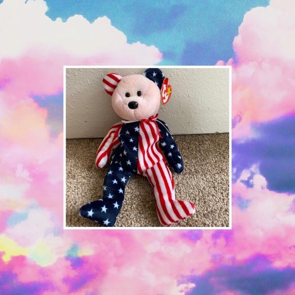 ‼️LAST ONE‼️TY Spangle the Bear'BEANIE W TAG ERROR